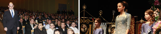 Conchín Gómez Medina, nombrada Reina del Encuentro de Semana Santa de 2012