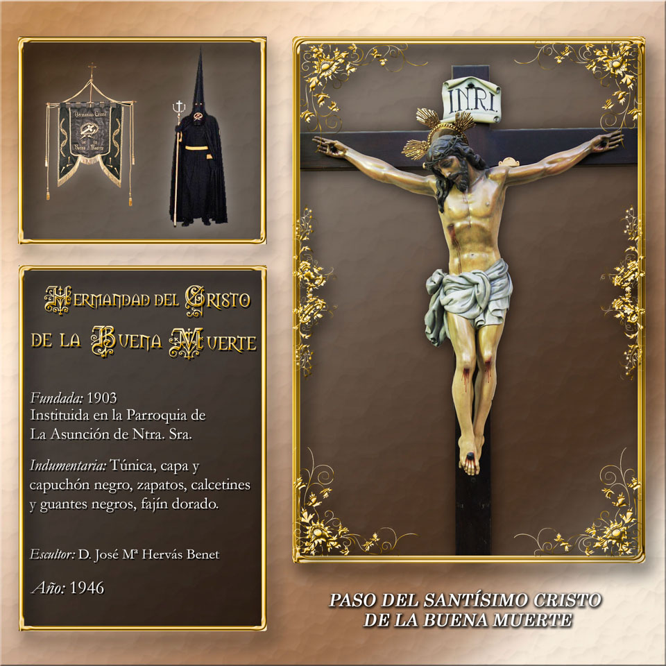 Paso del Santísimo Cristo de la Buena Muerte