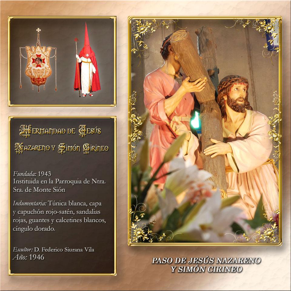 Paso de Jesús Nazareno y Simón Cirineo