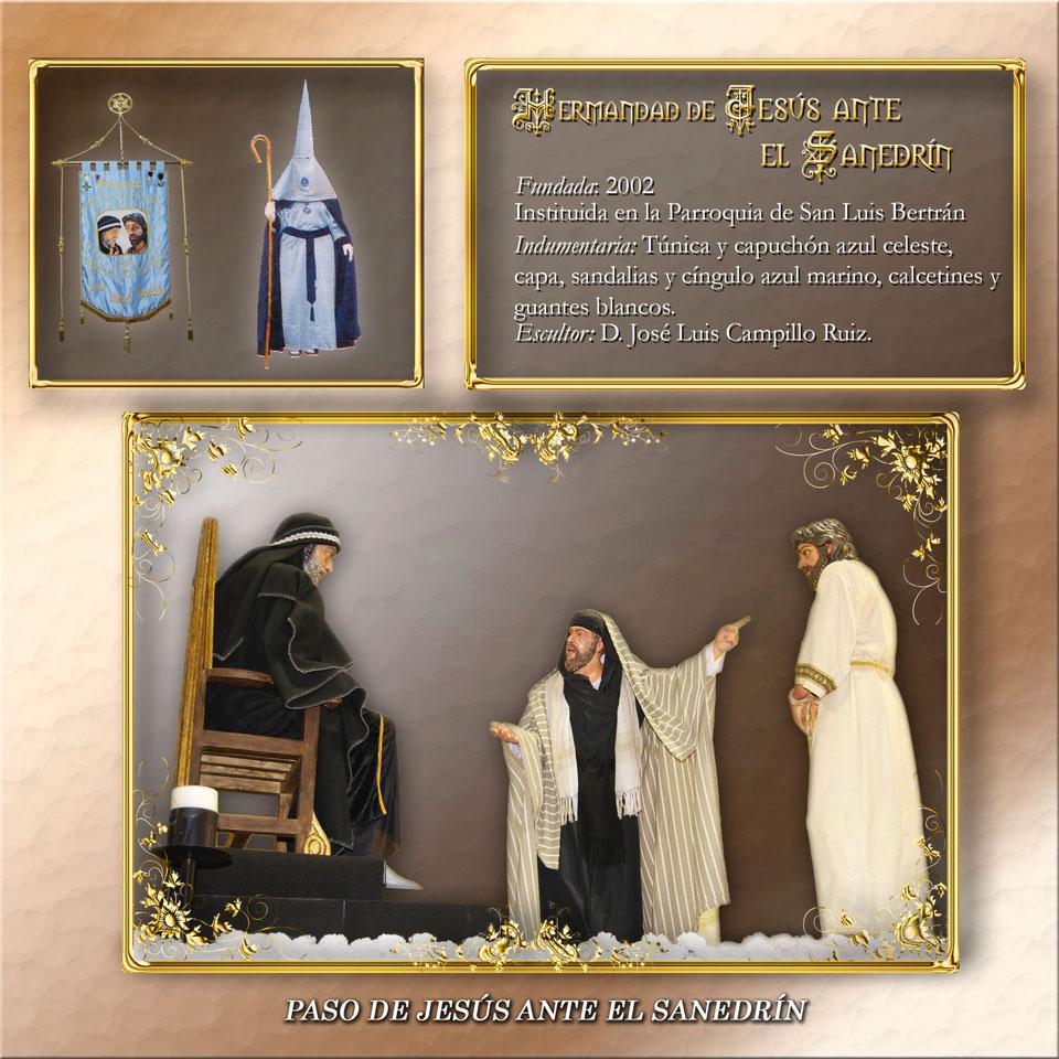 Paso de Jesús ante el Sanedrín